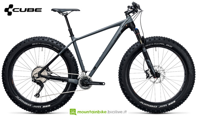 Una fat bike Cube Nutrail Race