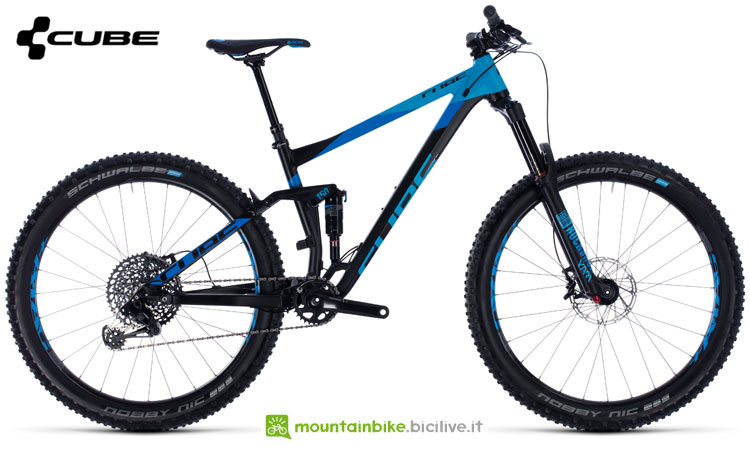 Una bicicletta Cube Stereo 150