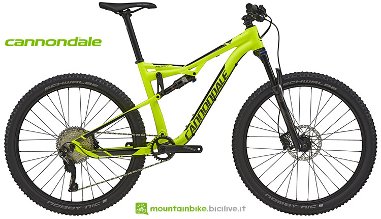 cannondale full budget limitato 2018