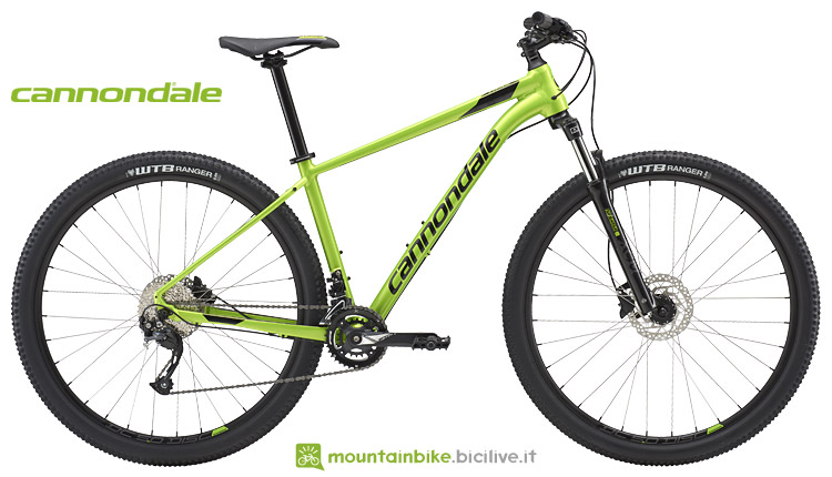 mtb entry level cannondale 2018