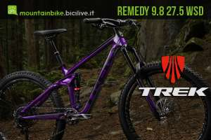 Una mtb da donna Trek Remedy 9.8 27.5 WSD
