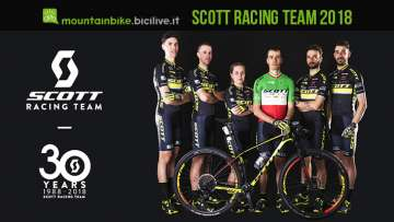 foto dello scott racing team 2018