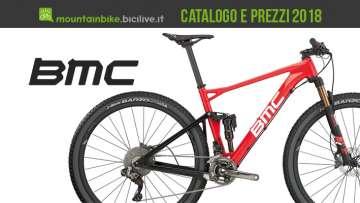 Catalogo e listino prezzi 2018 delle mtb BMC