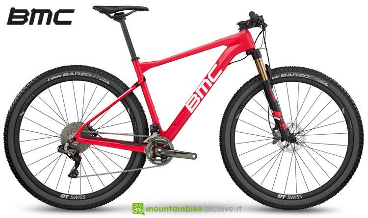 La mountain bike BMC Teamelite 01 TEAM