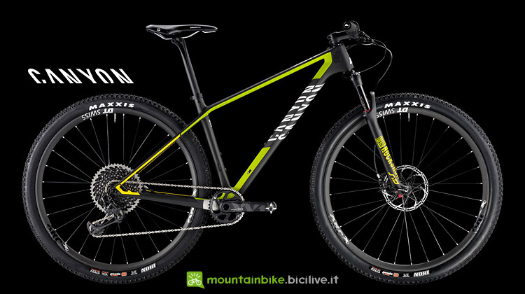 Canyon Exceed CF SLX 9.0 con Sram XX1 Eagle