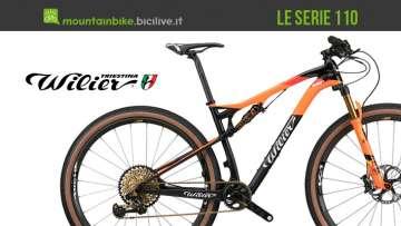 Le mountain bike della serie 110 di Wilier Triestina 2018