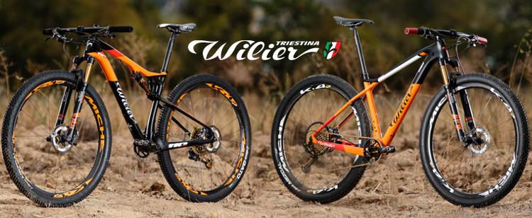 Le nuove bici da cross country di Wilier, la front 110X e la full 110FX
