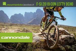 La mountain bike Cannondale F-Si 2019 con Lefty Ocho