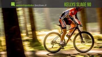 biker su mtb hardtail da XC Kellys Slage 90