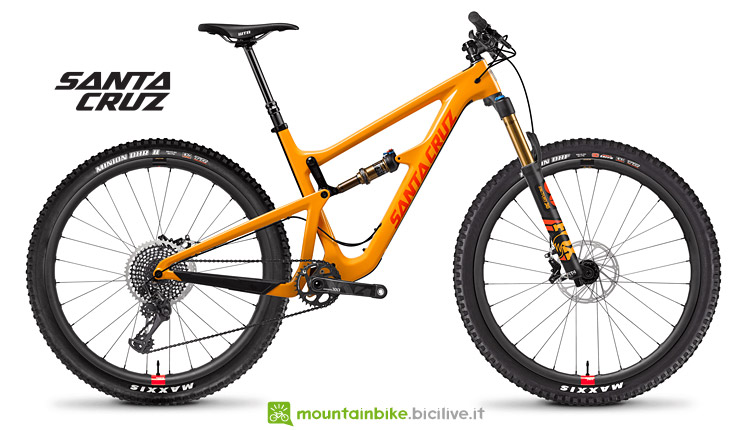 Santa Cruz Hightower con mozzi DT