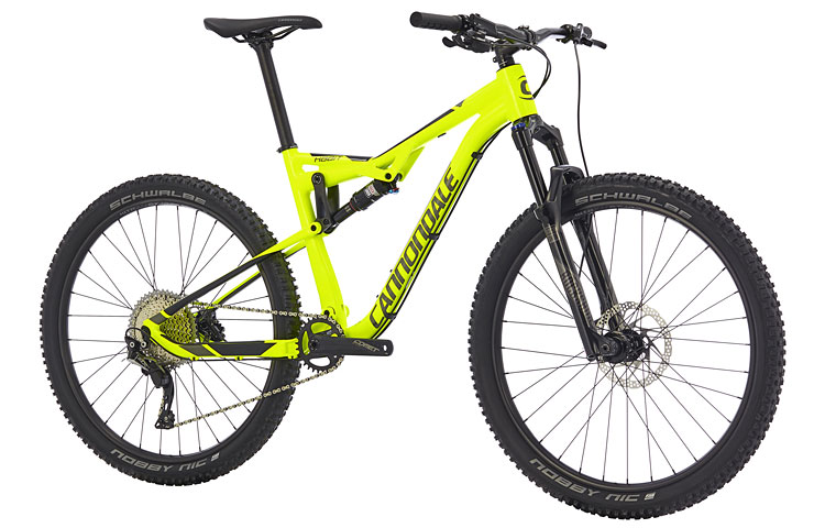 Cannondale Habit 5 con forcella RockShox