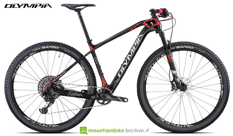 Una mountain bike front Olympia F1 Super