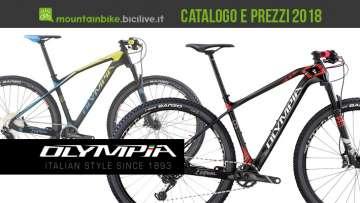 Catalogo e listino prezzi 2018 mtb Olympia