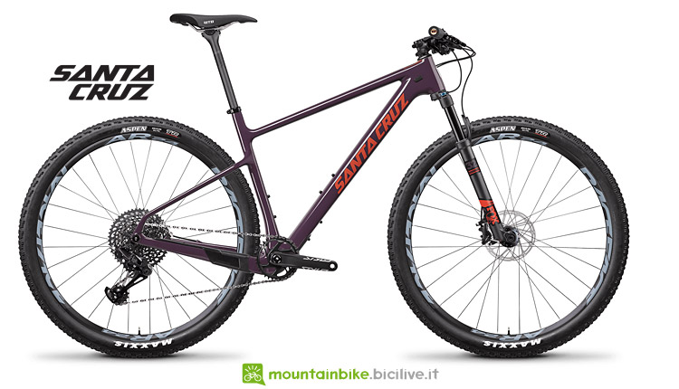 mtb da  XC Santa Cruz Highball