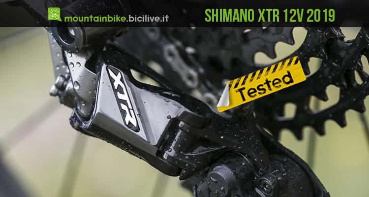 foto del nuovo cambio Shimano xtr 12 velocità