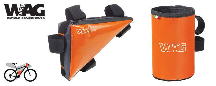Portaoggetti e la piccola borsa triangolo da telaio mtb di WAG