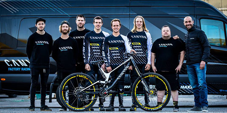 Canyon Factory Racing Team di DH