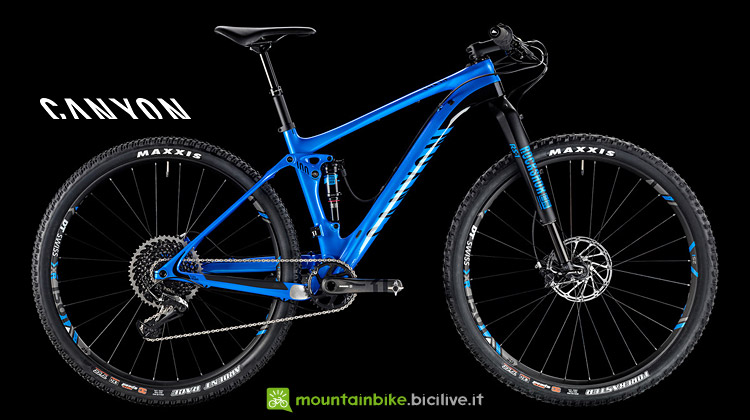 Canyon Lux CF 9.0 Pro Race con Rock Shox Monarch XX