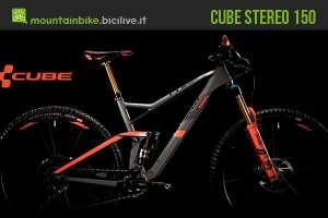 MTB FS da enduro Cube Stereo 150