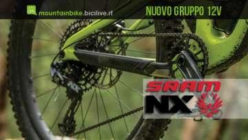 Gruppo di trasmissione SRAM NX Eagle a 12 velocità per mtb