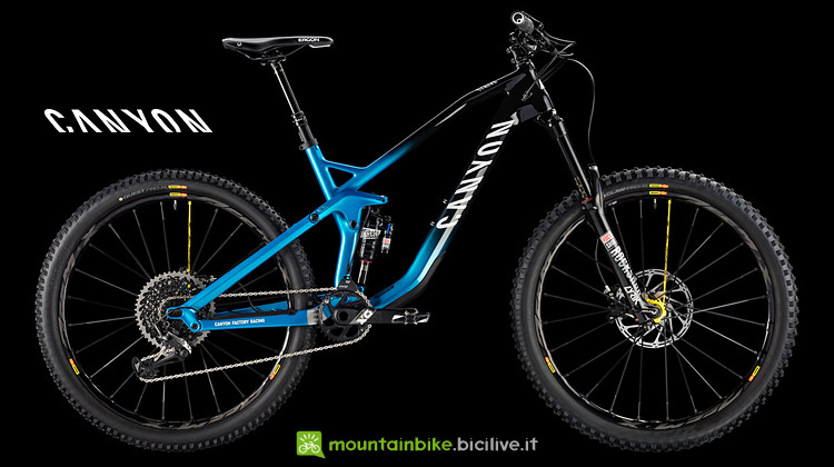 Canyon Strive 2018 da enduro
