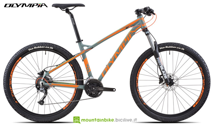 Una mountain bike front Olympia Cobra 650B Evo