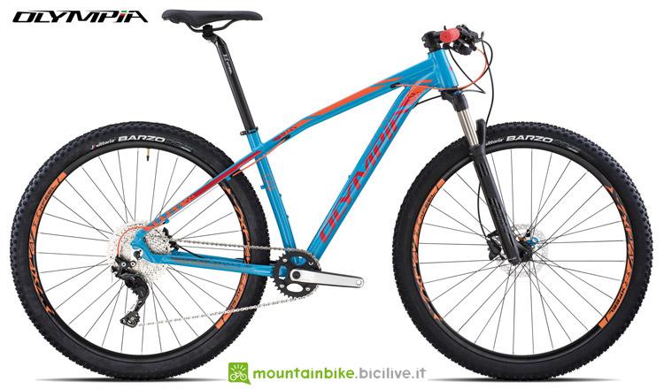 Una mountain bike Olympia Drake 1.5 del listino 2018