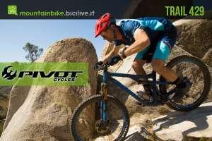 Pivot Trail 429: mtb da trail con telaio in carbonio