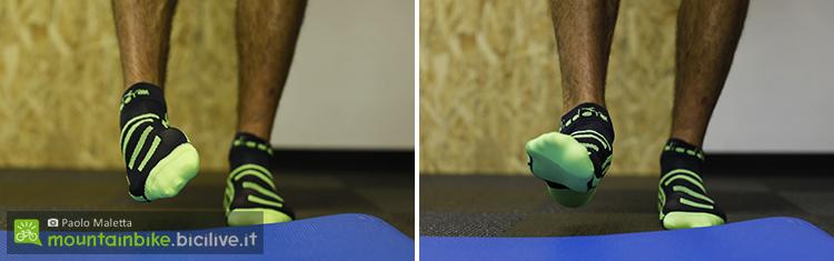 foto di movimenti laterali del piede
