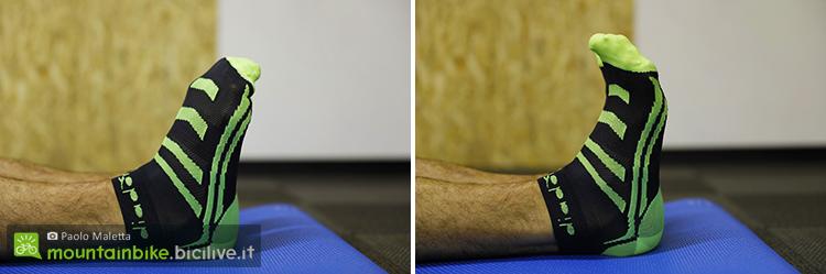 foto di movimenti per le punte dei piedi