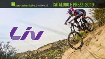 Catalogo e listino prezzi 2019 mtb Liv