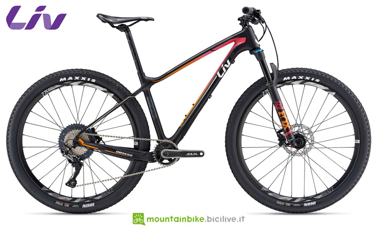 Una mtb da XC Liv Obsess Advanced 2 gamma 2019