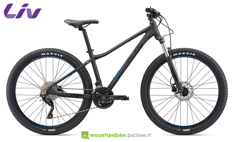 La mountain bike Tempt 1 GE dal catalogo 2019 Liv