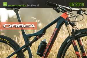 Una mountain bike da XC Orbea Oiz 2019