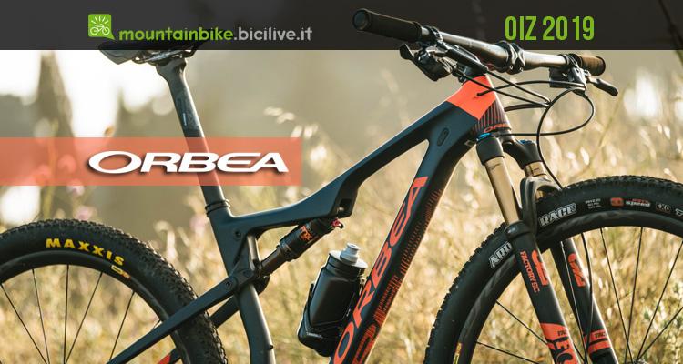 Una mountain bike da XC Orbea Oiz 2019
