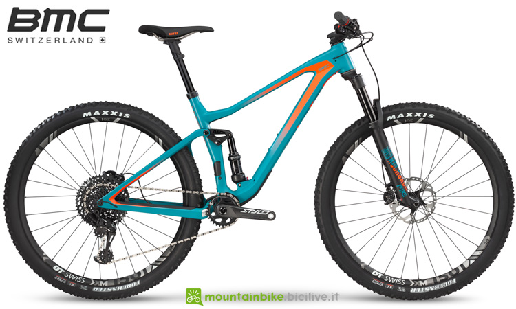 Una mountain bike biammortizzata BMC Speedfox 01 ONE