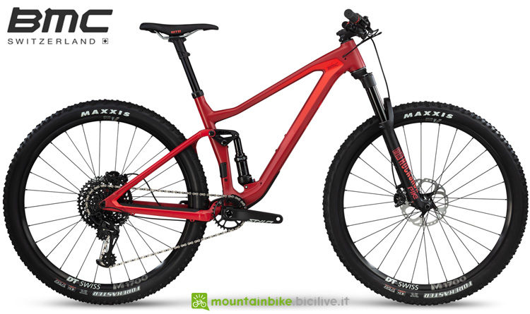 Una mountain bike full suspended Speedfox 02 ONE della gamma 2019 BMC