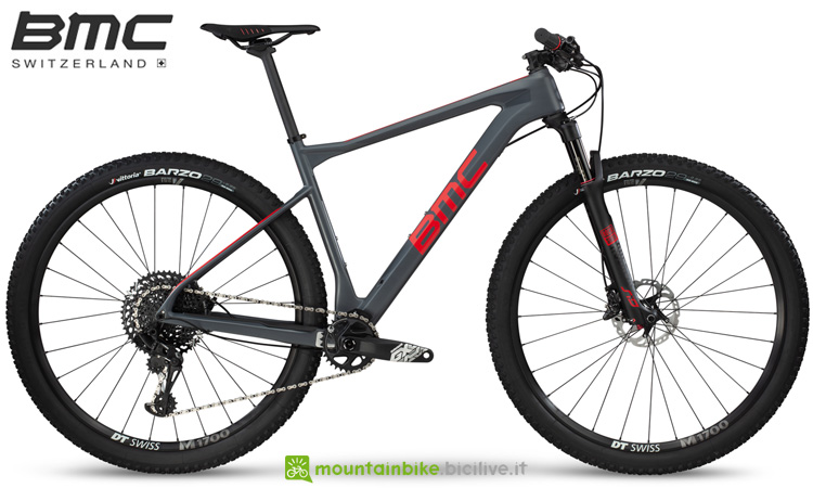 Una mountain bike BMC Teamelite 02 ONE dal catalogo 2019