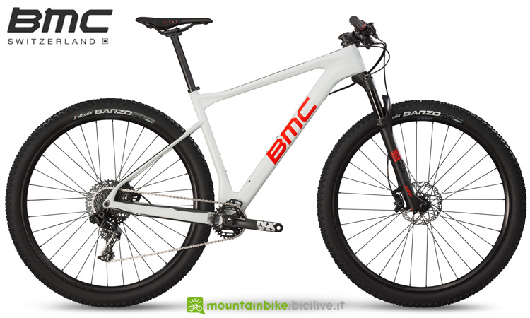 Una mountain bike front BMC Teamelite 02 THREE 2019