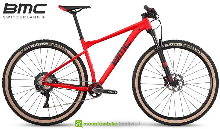 Una bicicletta da offroad BMC Teamelite 03 ONE dalla gamma 2019