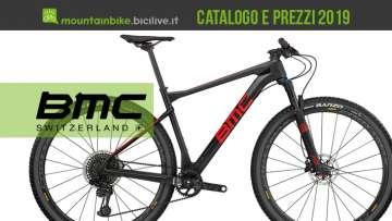 Mountain bike BMC: catalogo e listino prezzi 2019