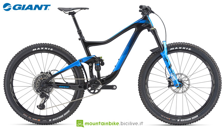 Una mountain bike full Giant Trance Advanced 0