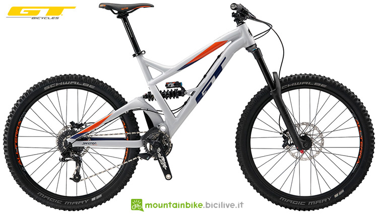 Una mtb full suspended GT Sanction Elite 2019