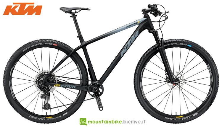 Una mountainbike hardtail MYROON 29 PRESTIGE 12 2019