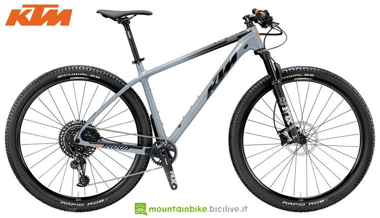 Una biciclea MYROON 29 PRO 12 del catalogo 2019 KTM