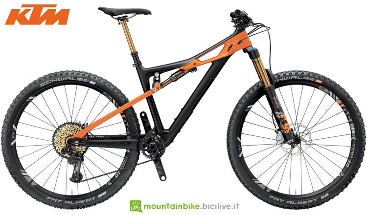 Una mtb full suspended KTM PROWLER 29 SONIC 12 XX1 2019