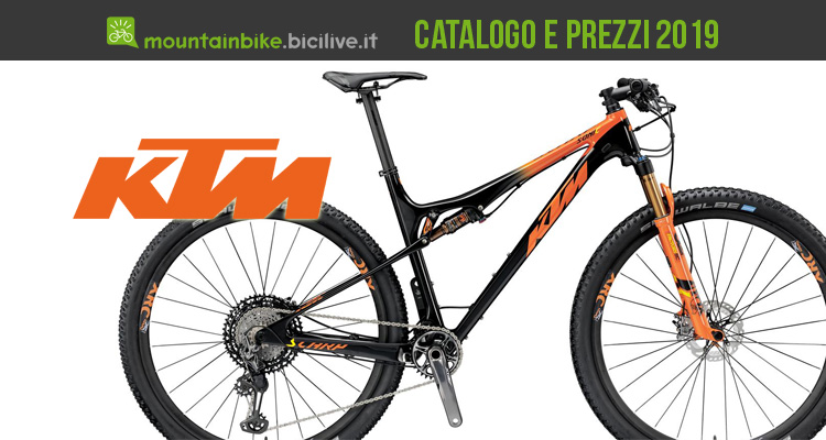 ktm mountain bike 2019 catalogo e listino prezzi mtb. Black Bedroom Furniture Sets. Home Design Ideas