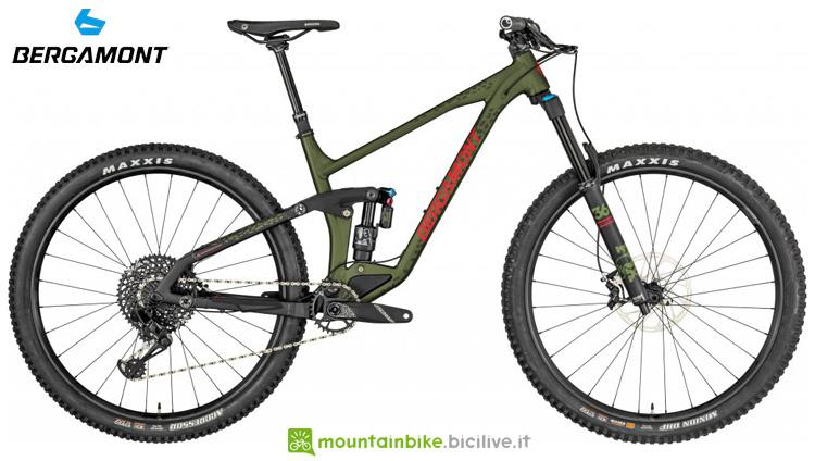 Una mountain bike Bergamont Trailster 10 2019