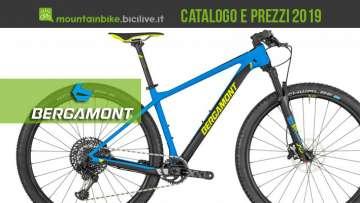 Bergamont mtb 2019: catalogo e listino prezzi mountain bike