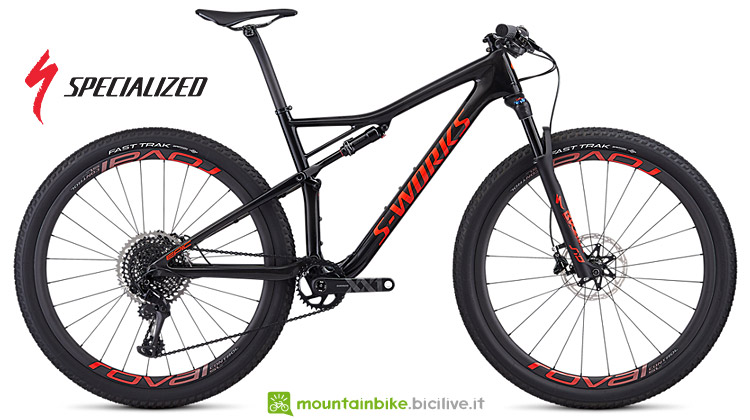 Specialized S-Works Epic 2019 con forcella RockShox SID WC